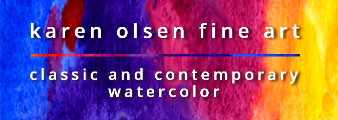 Karen Olsen Fine Art | classic and contemporary watercolor